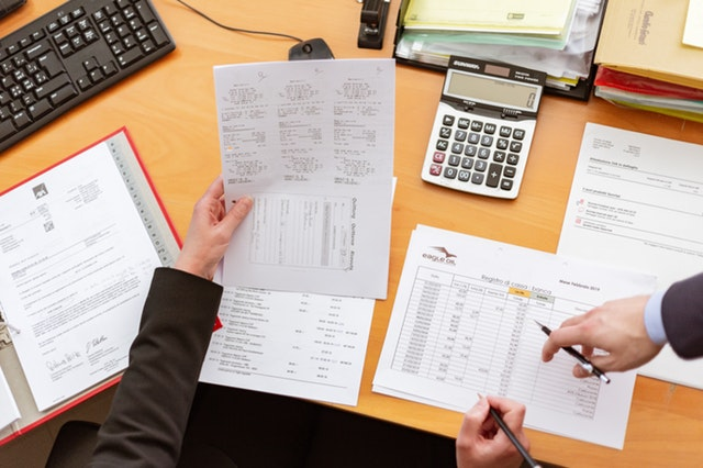 Financial reporting done by property management company