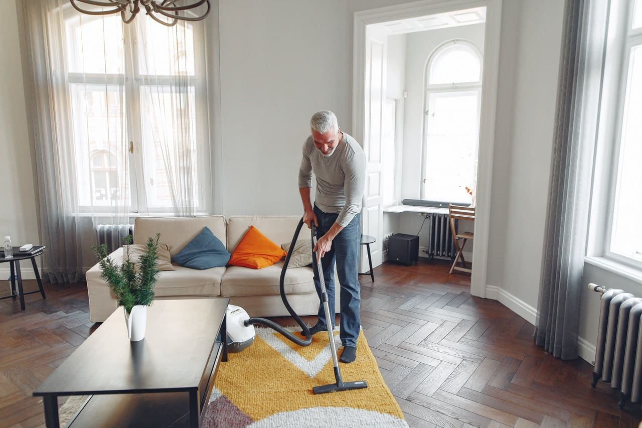 hire a cleaning service yearly to find any major issues