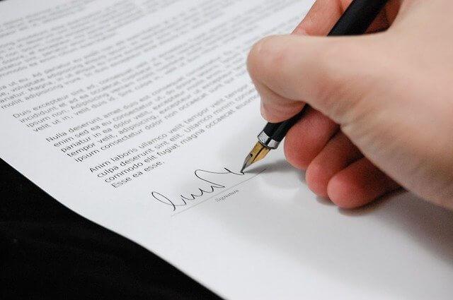 terms of tenancy